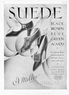 1928 | I. Miller | Beautiful Shoes  Presents The Velvetta |