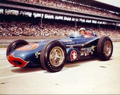 1961 - Wayne Weiler's (#15) Qualified: 12th, Speed (145.349 mph) Finished: 15th, Wheel Bearing, Lap 147