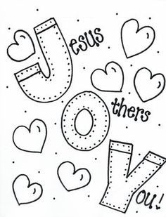 Fruit of the Spirit Joy Jesus First, Others 2nd, Yourself