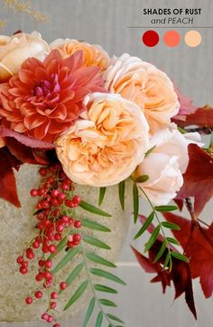 10 Creative Centerpieces for Weddings! http://www.theperfectpalette.com/2013/11/10-centerpieces-for-weddings.html?m=1