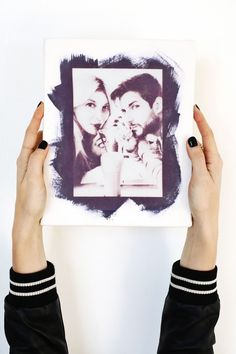 Use the sun to print photos onto fabric! @joannstores