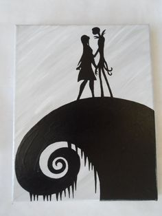 Welcome to Collectible Canvas - Minimalist Design - Maximum Personality Nightmare Before Christmas Painted Canvas Wall Hangings / Wall Art Set of 3 hand painted canvas paintings. Disney Nightmare Before Christmas, featuring Jack Skellington and Sally. Would make a great addition to your home, office or childs room. Would also make a one of kind special birthday or Christmas gift for the Disney Nightmare Before Christmas fan.  Each canvas painting has been hand painted by me using acrylic…