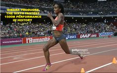 Dibaba Produces the Sixth-Fastest 1500m Performance In History. #dibaba #ethiopia #athletics