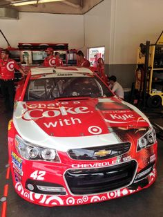 Who loves Chevy paint scheme? Mustang Old, Chevy, Chevrolet, Kyle Larson, Nascar Race Cars, Share A Coke, Monster Energy Nascar, Paint Schemes, Old Trucks