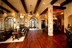 Texas Hill Country Home Designer | texas hill country home designs Elegance and luxurious pool texas hill ...