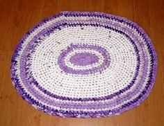 Crochet Rug Häkelteppich  http://wollfadenwelt.blogspot.co.at/