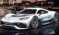 Leak: Mercedes-AMG Project One Grins For The Camera in Frankfurt :  Sure we are actually just minutes away from the official reveal of the  Mercedes-AMG Project One   but thanks to the embargo breach of the Germans from Bild we can give you the first five photos of the model.  Looking way different than what most renderings were implying at least when it comes to the front end the first Mercedes-  AMG  hypercar is almost production ready albeit the car shown in Frankfurt is a concept.  Only…