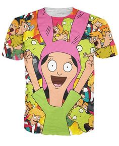 Louise Belcher V2 T-Shirt -- Get an extra 10% OFF with Discount Code  BJXRAGE10 -- even on most sale items!