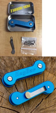 Key Chains Rings and Cases 52373: Blue Key Bar Edc Key Holder With Pocket Clip And Tin Case Holds 12 Keys Keybar New -> BUY IT NOW ONLY: $44.99 on eBay!