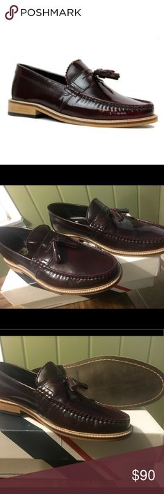 Lambretta loafers Pair of beautiful burgundy lambretta loafers.They are UK 10. Reasonable offers welcome. lambretta Shoes Loafers & Slip-Ons