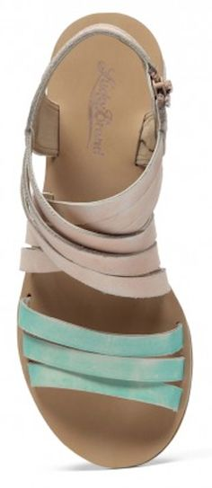 #mint strappy gladiator sandals http://rstyle.me/n/jk7hrr9te