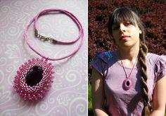 Pink Luxury Necklace (see on Facebook AndyBori or contact me: andybori@seznam.cz)