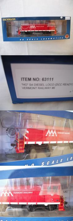Locomotives 97170: Bachmann 63111 S4, Vermont Railway Vr 6, Diesel Locomotive Engine, Ho Scale -> BUY IT NOW ONLY: $69.99 on eBay!