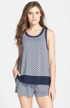 DKNY Tank Top & Shorts Pajama Set available at #Nordstrom Pajama Outfits, Pajama Shorts, Mom Outfits, Pyjamas, Pijamas Women, Night Dress For Women, Cute Pajamas, Baby Dolls, Classy Women