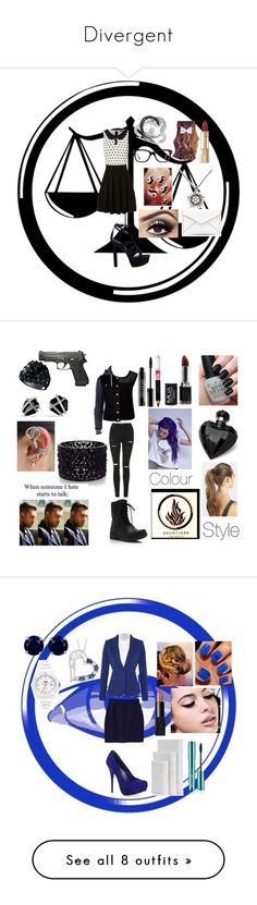 """Divergent"" by lucy-smith-2 ❤ liked on Polyvore featuring Jane Norman, Allurez, Converse, GUESS, Dolce&Gabbana, Rebecca Minkoff, Topshop, Forever New, River Island and Lipsy"