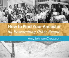 If researching your ancestor doesn't give you the answers you're looking for…