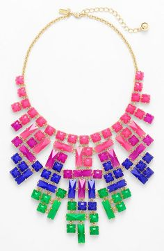 "Kate Spade ""Skyline"" necklace, about $140, Nordstrom"