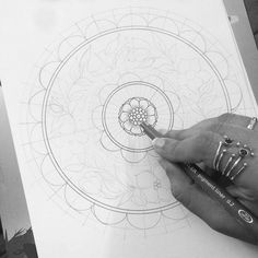 New Mandala in process....it will be one of the pieces where i know what i'm gonna draw . . . . #intrikateink #mandala #mandala_sharing #mandalatherapy #coloringmandalas #coloringforadults #coloring #adultcoloringbook #coloringpage #etsy #wip #workinprogress #artinprogress #art #artist #artwork #originalart #handmade #mandalaartist #subscription #doodle #zenart #zentangle #penart #mystaedtler #penandink #drawing #sketchbook #artjournal  #lineart