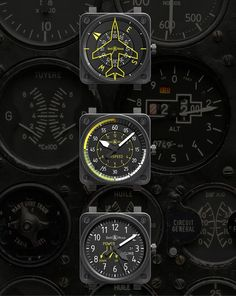 Bell & Ross 2013 Aviation watch collection