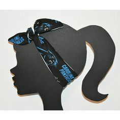 Panthers Headband Nfl Accessory Tie Head Wrap Top Knot Headband... ($12) ❤ liked on Polyvore featuring accessories, hair accessories, grey, headbands & turbans, headband turban, headband hair accessories, hair bands accessories, tie knot headband and tie headbands