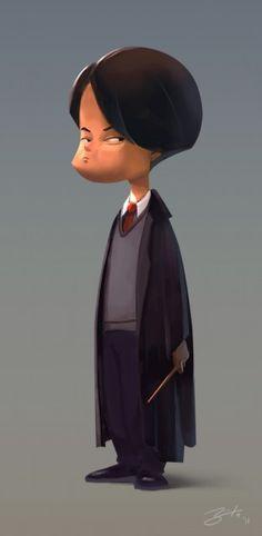 Amazing Digital Art by Goro Tim Walker, Character Design Animation, 3d Character, Character Illustration, Illustration Art, Different Kinds Of Art, List Of Artists, Cartoon Styles, Cute Art