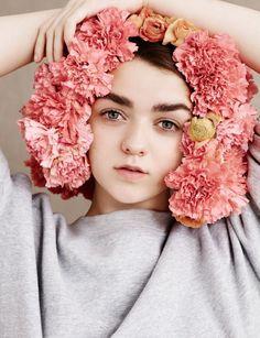 Maisie Williams by Ben Toms for Dazed Magazine Spring:Summer 2015 4