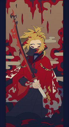 Demon Slayer: Kimetsu no Yaiba, Tanjirou Kamado, Kyojuro Rengoku / - pixiv Manga Anime, Fanarts Anime, Anime Demon, Anime Art, Character Concept, Character Art, Character Design, Demon Slayer, Slayer Anime