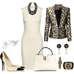 A fashion look from October 2014 featuring STELLA McCARTNEY dresses, Balmain jackets y Jimmy Choo pumps. Browse and shop related looks.