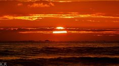 Sunsets Costa Rica, Peninsula Papagayo, Orange Sky, Sunset Pictures, Pacific Coast, Beautiful Sunset, Mother Earth, Sunsets, Scenery