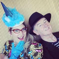 Shark hat from Mountains to Sea book festival, with behatted writer David Almond, dlr Lexicon library, Dun Laoghaire, March 2015 (Fin created by Laura Drake Chambers & Sam Wyer but I reassembled a previous hat into this one.) http://philipreeve.blogspot.co.uk/2015/03/mountains-to-sea-2015.html