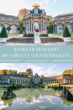 Bayreuth Reisetipps für einen Kurzurlaub in Franken – Tipps für Sehenswürdigkeiten, romantische Orte, Instagram Spots und Fotospots sowie Ausflüge rund um Bayreuth. Ob Eremitage, Markgräfliches Opernhaus oder Neues Schloss: Auf meinem Reiseblog findest du meine Empfehlungen und Tipps für Bayreuth sowie eine Karte mit den schönsten Fotospots und Instagram Spots sowie Bayreuth Insidertipps für einen Tag in Bayreuth. #bayreuth #reisetipps #tipps #franken #reiseblog