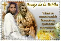 Vidas Santas: Santo Evangelio según san Mateo 26:16