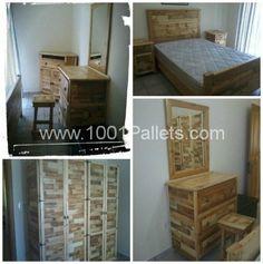 100% Pallet Bedroom