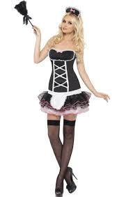Our black and pink French Maid Outfit features a sexy tutu skirt, ribbon detailing and a ribbon trim. A captivating fancy dress idea which will ensure that cleaning is the last thing on your man's mind! Fancy Costumes, Tutu Costumes, Costume Ideas, French Maid Fancy Dress, Maid Outfit, White Apron, Hipster Sweater, Lace Sweatshirt, White Lace