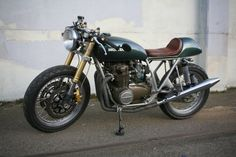 CB550 Cafe Racer #Honda #Motorcycle