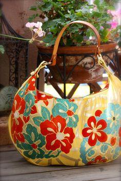 Kimono / Obi / Bag / YL609 Pretty Flower Pattern by RummyHandmade, $75.00