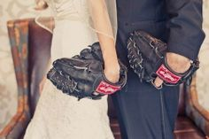 Unsure if we'll have our gloves with us that day - probably should for our baseball field shot!