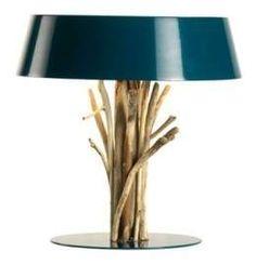 Lampada da tavolo Bleu nature - Lampada da tavolo Bleu nature