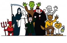 7 Fun Halloween Party Games & Activities for Kids - recommended by Playworks (http://www.playworks.org) - Pinned by @PediaStaff – Please visit http://ht.ly/63sNt for all (hundreds of) our pediatric therapy pins