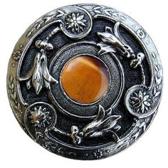 Notting Hill Jewel Mushroom Knob Finish: