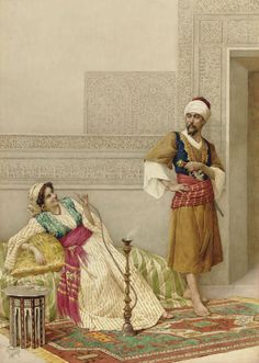 About Art - Talent works, genius creates... : Filippo Indoni, Watercolor (Italian artist, 1842-1908)