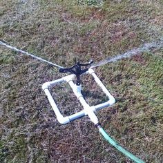 Simple Garden Sprinkler Out of Inground Popup Sprinklers : 5 Steps - Instructables Pop Up Sprinklers, Garden Sprinklers, Sprinkler Heads, Water Sprinkler, Lawn Sprinkler System, Garden Works, Yard Tools, Lush Lawn, Garden Projects