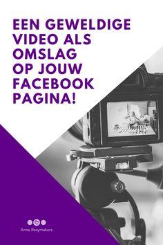 Ik leg je in dit artikel uit hoe je heel gemakkelijk een omslagvideo kunt plaatsen op je Facebookpagina! #facebook #marketing #socialmedia #ondernemer