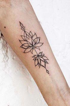 53 Best Lotus Flower Tattoo Ideas To Express Yourself - Lotus Tattoos On Arms P. - 53 Best Lotus Flower Tattoo Ideas To Express Yourself – Lotus Tattoos On Arms Picture 2 – - Neue Tattoos, Body Art Tattoos, Sleeve Tattoos, Wrist Tattoos, Tattoo Girls, Girl Tattoos, Tattoos For Women, Tatoos, Tattoo Sister