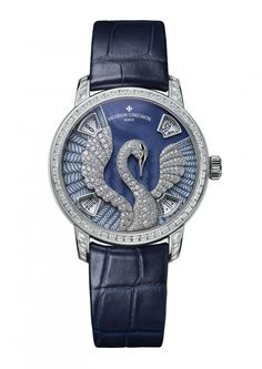 Vacheron Constantin 86675/000G-B115 Metiers D'Art l'Eloge de la Nature - швейцарские женские часы - наручные, золотые с бриллиантами, синие