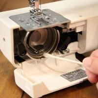Learn how to keep your machine clean by Amy Alan