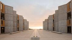 The Restoration of Louis Kahn's World-Famous Salk Institute in La Jolla Must Be Seen to Be Believed Louis Kahn, La Jolla, Dungeness Beach, Teak, Perez Art Museum, Architecture Foundation, California Architecture, Modern Architecture, Famous Buildings