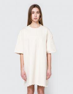 Short Dress in Cream