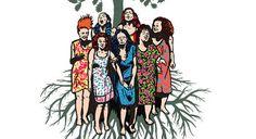 Vous ne devez jamais arrêter de rire, chanter, danser! Elles sont sœurs, sept femmes d'une même famille italienne, livrées à un nouveau deuil à faire. Elles se rendent à un