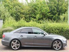 Audi A6 2012 3.0 BiTDI Quattro 313 S Line 4 Door Tip Automatic Daytona Grey Pearl Effect Saloon